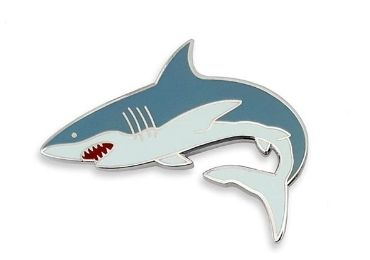 custom Shark Enamel Pin wholesale manufacturer and supplier in China