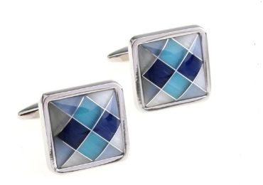 custom Shell Square Cufflinks wholesale manufacturer and supplier in China