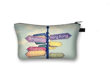 custom Signpost Cosmetic Bag wholesale manufacturer and supplier in China