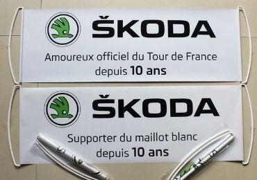 custom Skoda Handheld Banner wholesale manufacturer and supplier in China