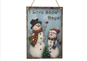 custom Snowman Wooden Signs wholesale manufacturer and supplier in China