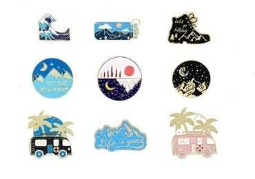custom Soft Enamel Lapel Pin wholesale manufacturer and supplier in China