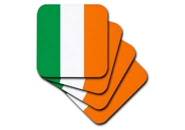 custom Souvenir Coaster Ireland Flag wholesale manufacturer and supplier in China