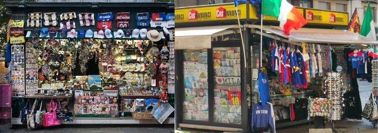 Souvenir Shop Italy