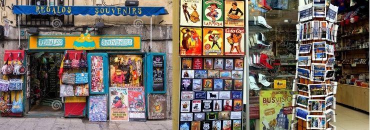 Souvenir Shop Madrid