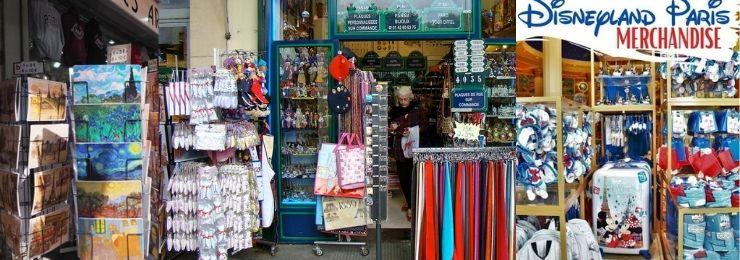 Souvenir Shops in Paris