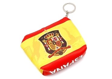 custom Souvenir Spain Coin Bag wholesale manufacturer and supplier in China