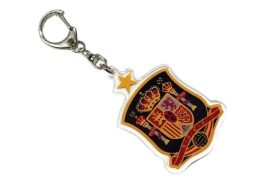 custom Spain Acrylic Souvenir Keychain wholesale manufacturer and supplier in China
