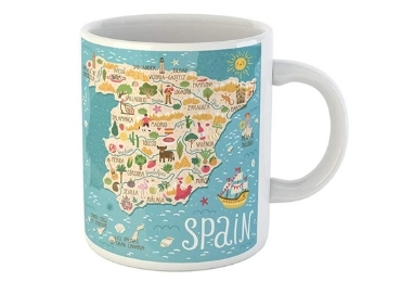 custom Spain Ceramic Mug wholesale manufacturer and supplier in China