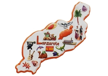 custom Spain Islands Souvenir Magnet wholesale manufacturer and supplier in China