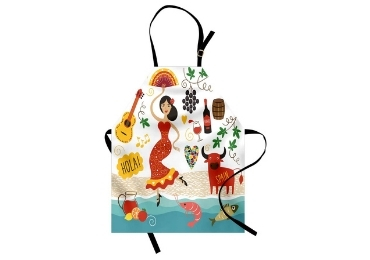 custom Spain Souvenir Apron wholesale manufacturer and supplier in China