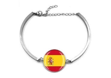 custom Spain Souvenir Bracelet wholesale manufacturer and supplier in China