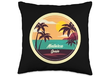 custom Spain Souvenir Cotton Pillow wholesale manufacturer and supplier in China