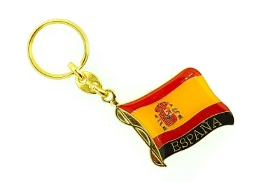 custom Spain Souvenir Keychain wholesale manufacturer and supplier in China