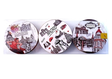 custom Spain Souvenir MDF Coaster wholesale manufacturer and supplier in China