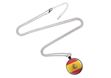 custom Spain Souvenir Necklace wholesale manufacturer and supplier in China