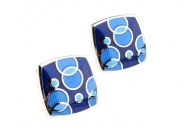 custom Square Enamel Cufflinks wholesale manufacturer and supplier in China