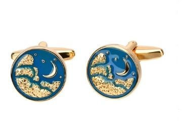 custom Starry Sky Cufflinks wholesale manufacturer and supplier in China