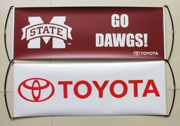 custom TOYOTA Advertising Banner wholesale manufacturer and supplier in China