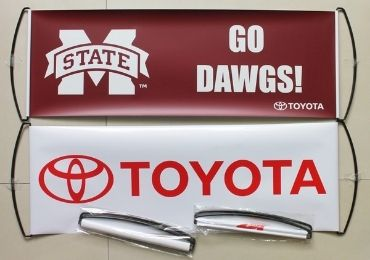 custom TOYOTA Handheld Banner wholesale manufacturer and supplier in China