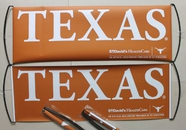 custom Texas Cheering Banner wholesale manufacturer and supplier in China