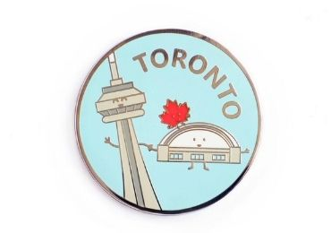 custom Toronto Enamel Lapel Pin wholesale manufacturer and supplier in China