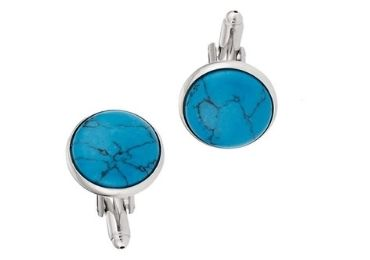custom Turquoise Cufflinks wholesale manufacturer and supplier in China