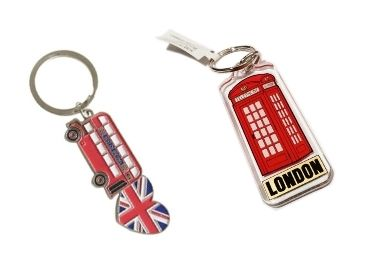 custom UK Enamel Souvenir Keychain wholesale manufacturer and supplier in China