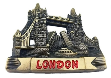 custom UK Metal Souvenir Magnet wholesale manufacturer and supplier in China