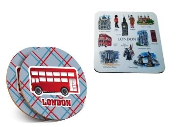 custom UK Souvenir MDF Coaster wholesale manufacturer and supplier in China