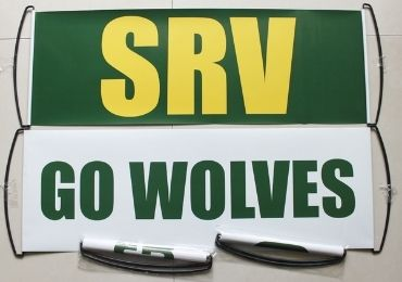 custom Wolves Basketball Banner wholesale manfuacturer and supplier in China