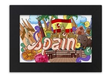 custom Wooden Spain Picture Frame wholesale manufacturer and supplier in China