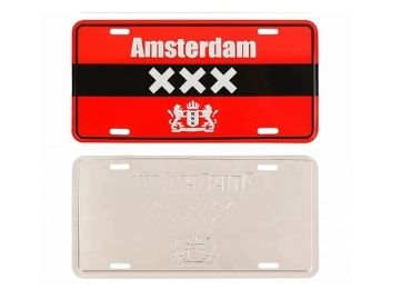 custom Amsterdam Souvenir License Plate wholesale manufacturer and supplier in China