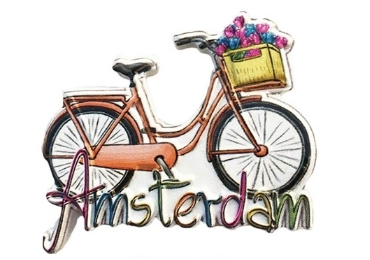 custom Amsterdam Souvenir Wooden Magnet wholesale manufacturer and supplier in China