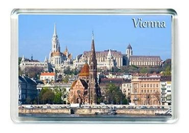 custom Austria Acrylic Souvenir Magnet wholesale manufacturer and supplier in China