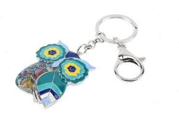 custom Austria Enamel Souvenir Keychain wholesale manufacturer and supplier in China