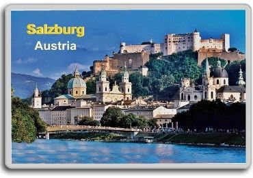 custom Austria Souvenir Acrylic Magnet wholesale manufacturer and supplier in China