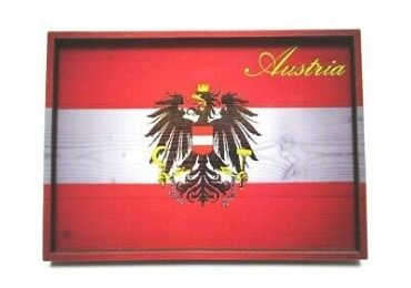 custom Austria Souvenir Wooden Tray wholesale manufacturer and supplier in China