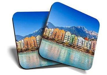 custom Austria Wooden Souvenir Coaster wholesale manufacturer and supplier in China