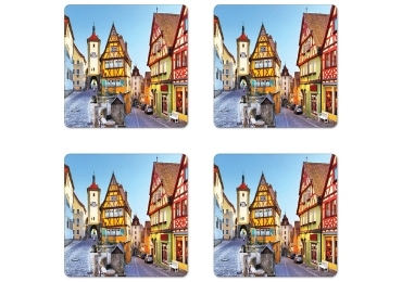 custom Bavarian Souvenir MDF Coaster wholesale manufacturer and supplier in China