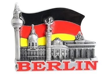 custom Berlin Enamel Souvenir Magnet wholesale manufacturer and supplier in China