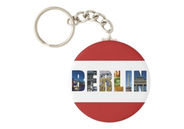 custom Berlin Souvenir Acrylic Keychain wholesale manufacturer and supplier in China