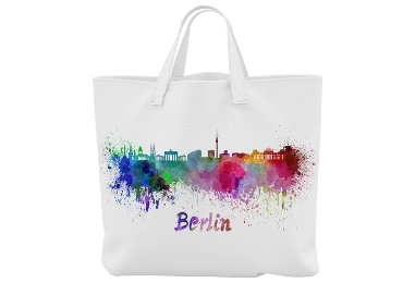 custom Berlin Souvenir Cotton Bag wholesale manufacturer and supplier in China