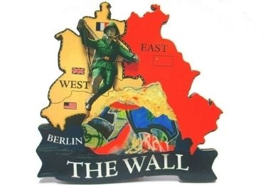 custom Berlin Wall Souvenir Magnet wholesale manufacturer and supplier in China