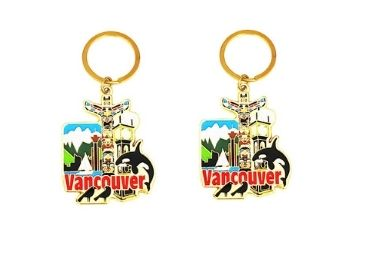 custom Canada Souvenir Keychain wholesale manufacturer and supplier in China