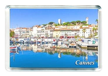 custom Cannes Acrylic Souvenir Magnet wholesale manufacturer and supplier in China