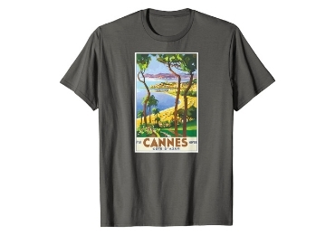 custom Cannes Souvenir T-shirt wholesale manufacturer and supplier in China