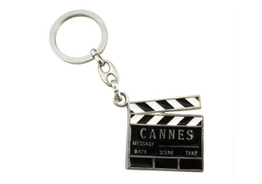 custom Cannes Wooden Souvenir Keychain wholesale manufacturer and supplier in China