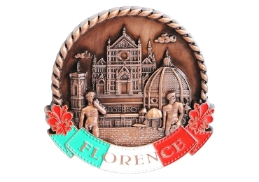 custom Florence Souvenir Magnet wholesale manufacturer and supplier in China