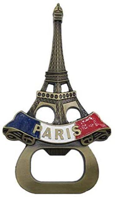 custom France Souvenir Bottle Opener wholesale manufacturer and supplier in China
